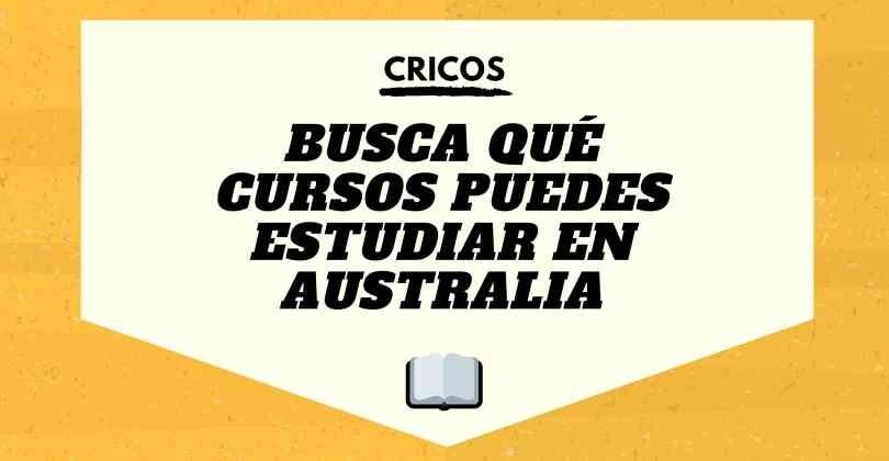 ¿Qué curso puedo estudiar en Australia? Búscal