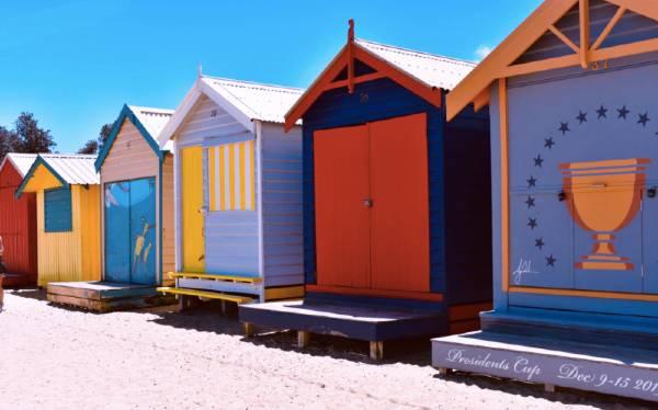 Las 5 mejores playas de Mlebourne - Brighton Beach
