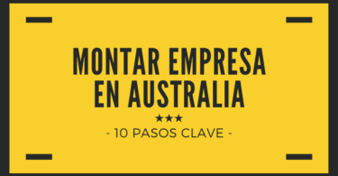 Montar empresa en Australia - 10 pasos clave