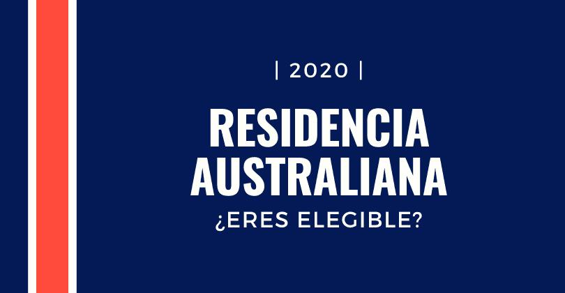 residenza permanente in Australia sei idoneo?