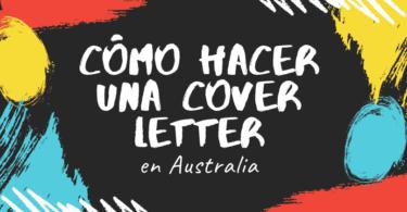 Cómo hacer una cover letter en Australia