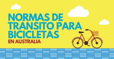 Normas de tránsito para bicicletas en Australia