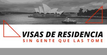Visas de residencia en Australia sin gente que las tome