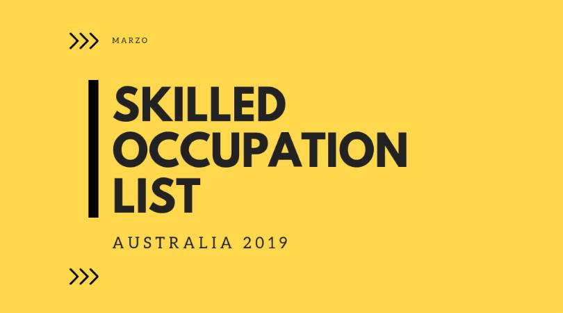 Lista de Profesiones Demandadas en Australia 2019 - 2020