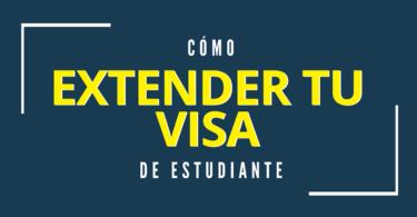 Renovar visa de estudiante Australia