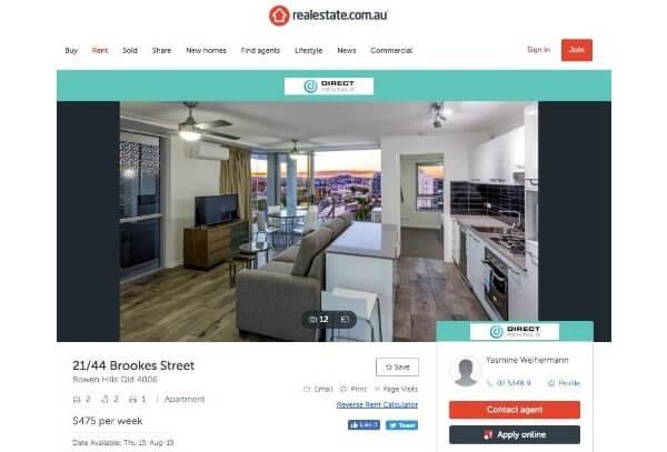 Cómo alquilar casa o apartamento en Australia a