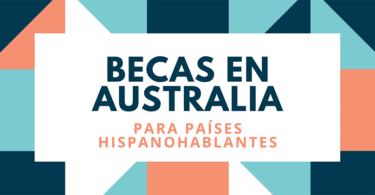 Becas a Australia 2020 - 2021 - Cover image