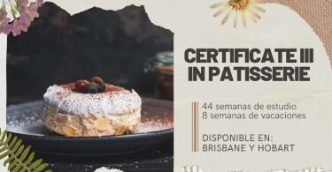Certificate III in Patisserie