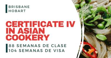 Cursos VET en Australia - Certificate IV in Asian Cookery