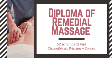 Cursos VET en Australia - Diploma of Remedial Massage