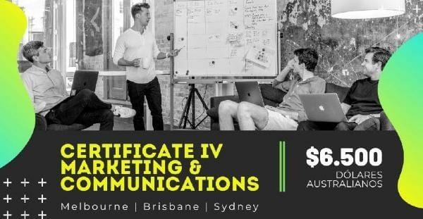 Curso VET en Australia - Certificate IV in Marketing & Communications