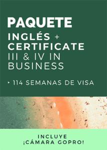 Corso di pacchetti: inglese + Corso veterinario (certificato III e IV)